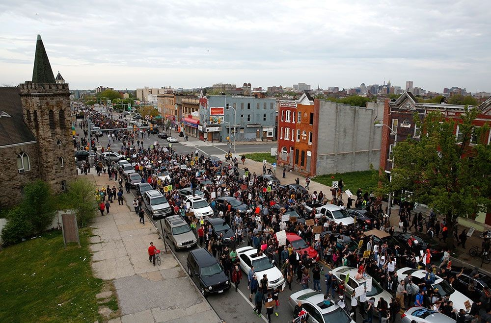Protestas en Baltimore