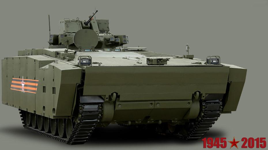 Ministerio de Defensa de Rusia / Transporte de tropas blindado Kurganets-25