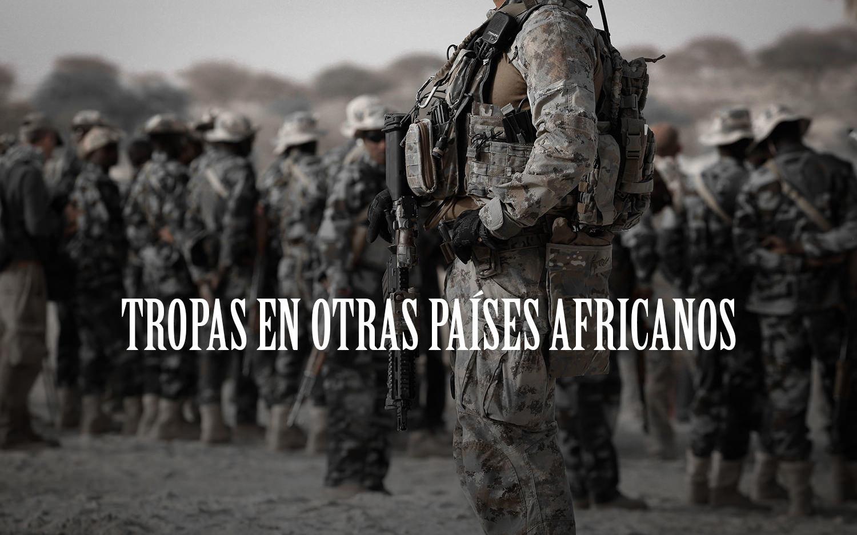 Tropas en otras países africanos