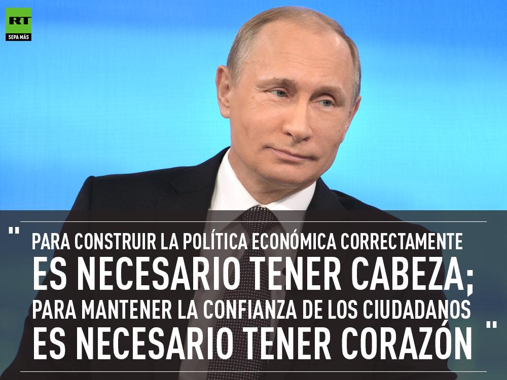 15 Anos De Putin En El Poder Como Cambio Rusia Rt