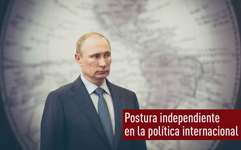 Postura independiente  en la política internacional. Part 1