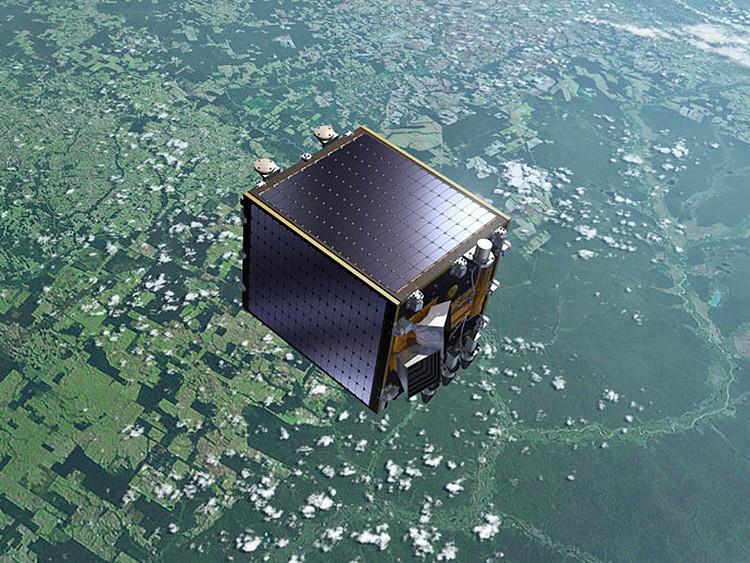 Pequeño satélite capaz de vigilar15.000 vuelos desde el espacio