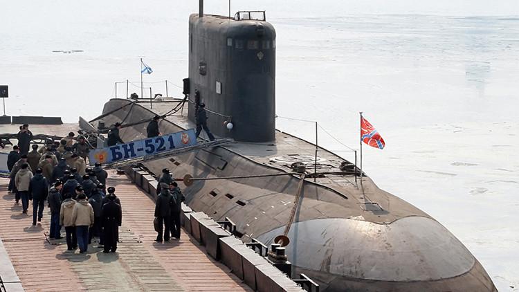 El submarino clase Kilo