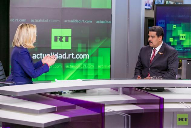 Maduro, entrevista