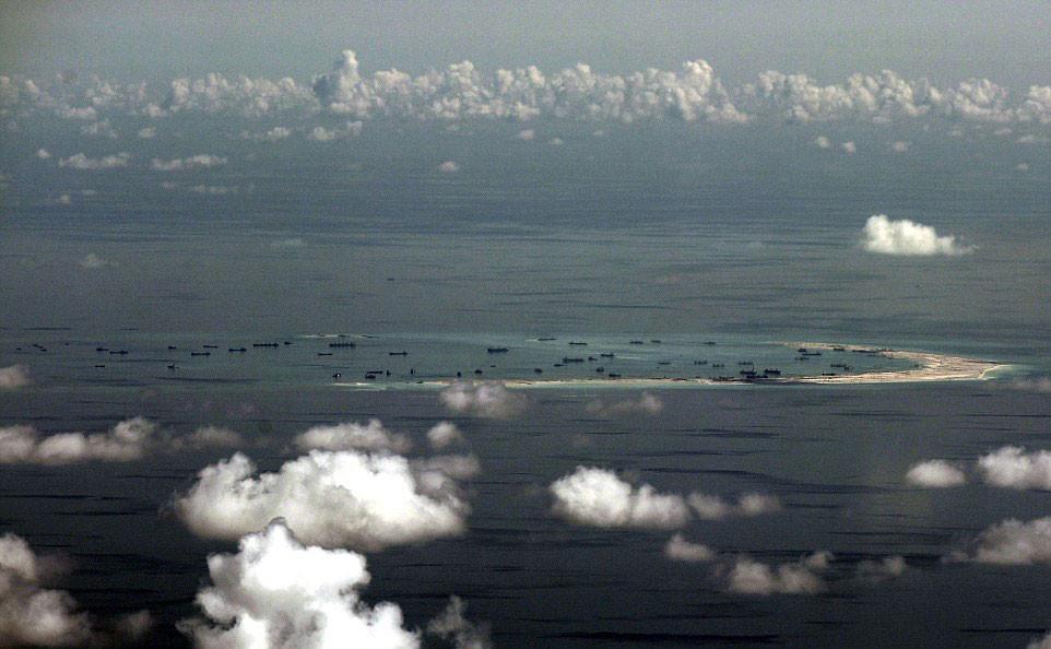 china islas