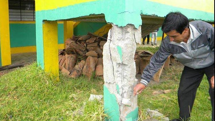 Perú declara emergencia para un distrito que la tierra trag
