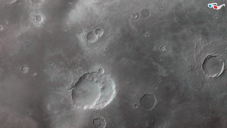 Pueden haber encontrado un 'Yellowstone' en Marte