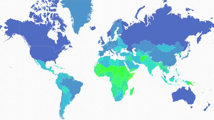 ¿Qué países serían más vulnerables al cambio climático?