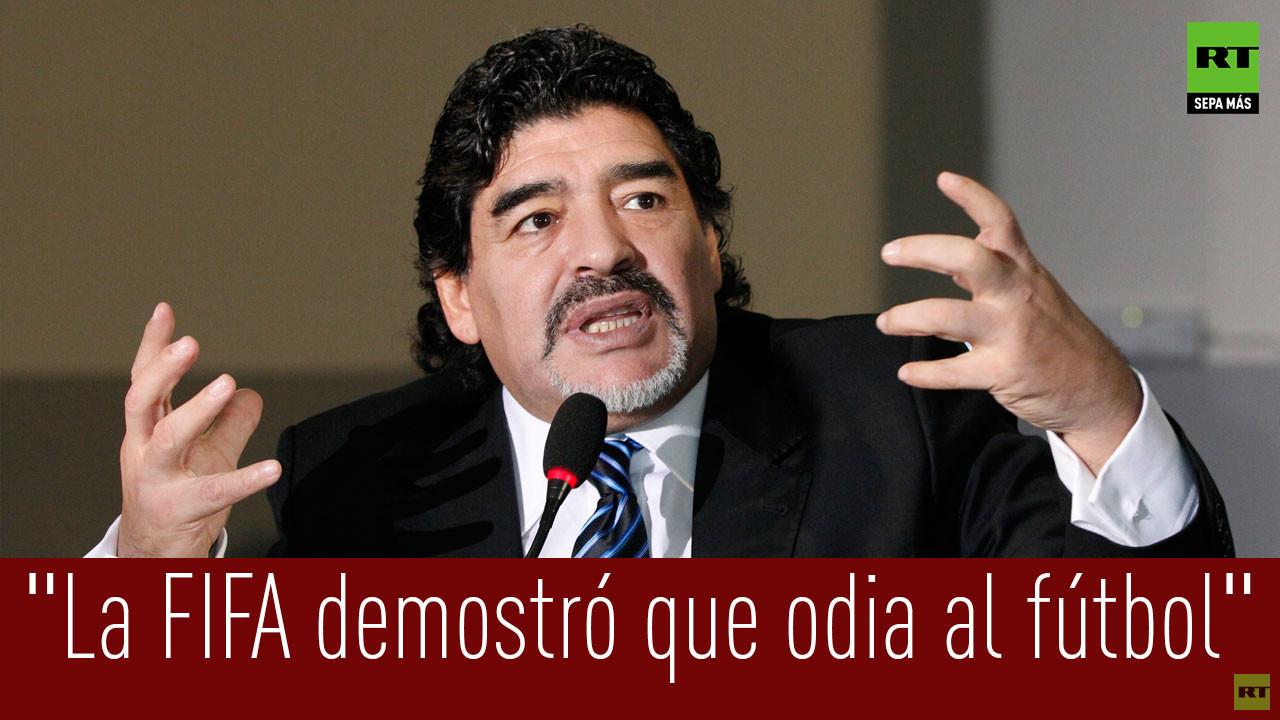 Maradona: Escándalo en la FIFA