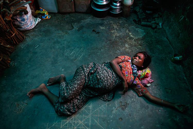 Rohingya Muslim woman