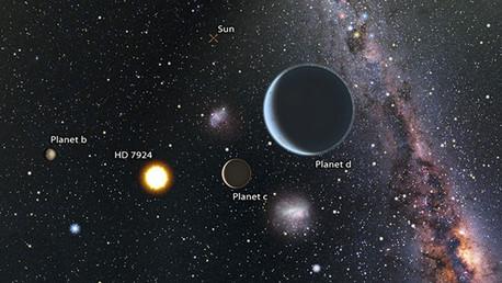 Existen tres 'super-Tierras' muy cerca de nuestra planeta