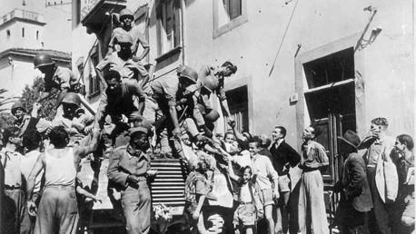 Soldados brasileños en Italia, 1944
