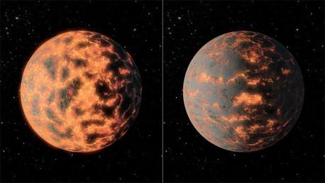 ¿Planeta de diamantes o un infierno volcanico?: Una supertierra muestra cambios del tiempo inmensos