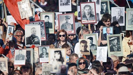 La acción patriótica rusa Regimiento inmortal recorrerá de nuevo las ciudades el 9 de mayo
