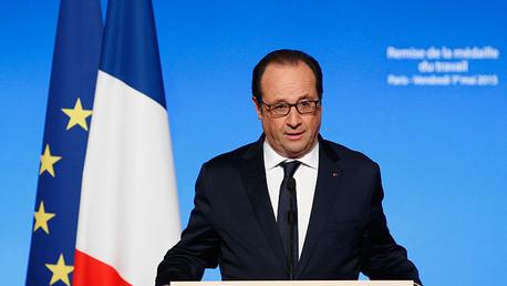 Hollande admite  haber entregado armas a los rebeldes sirios a pesar del embargo