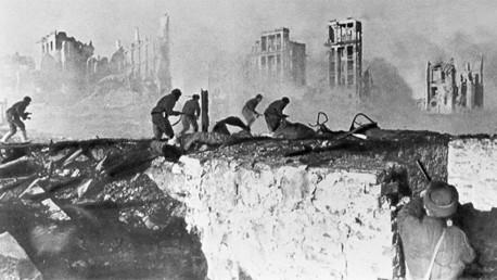 Momento crucial de la Guerra: Heroica batalla de Stalingrado