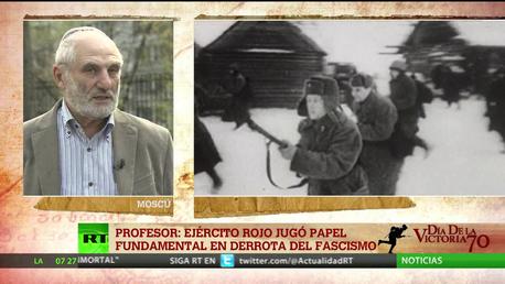 Profesor: El Ejército Rojo jugó un papel fundamental en la derrota del fascismo