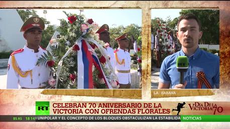 Cuba celebra el 70 aniversario de la victoria en la Segunda Guerra Mundial