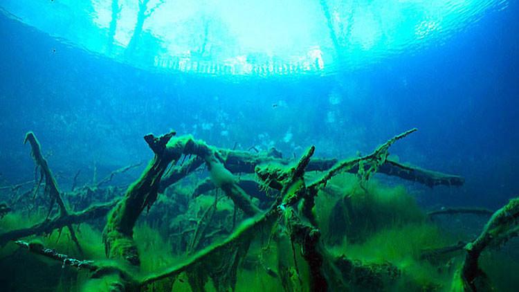 Resultado de imagen de El misterioso lago ruso 'sin fondo' que quita el sueño a buceadores y científicos