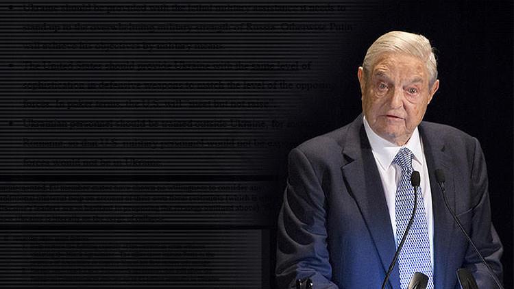 'Hackers' revelan los ambiciosos planes secretos de Soros en Ucrania
