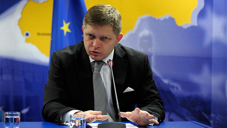 El primer ministro eslovaco pide levantar las sanciones antirrusas de la UE