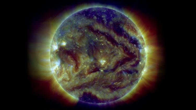 Aparece una flecha gigante en el Sol: ¿Qué nos indica el astro rey?