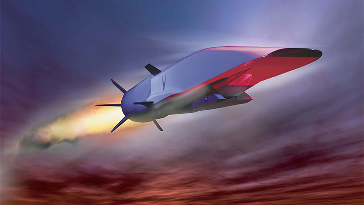 ¿Atravesar EE.UU. en media hora? El avión hipersónico militar que prepara Washington podría lograrlo