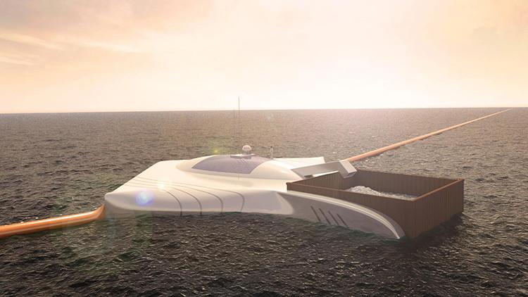 Fotos: Un innovador proyecto para limpiar el océano será puesto en marcha en 2016
