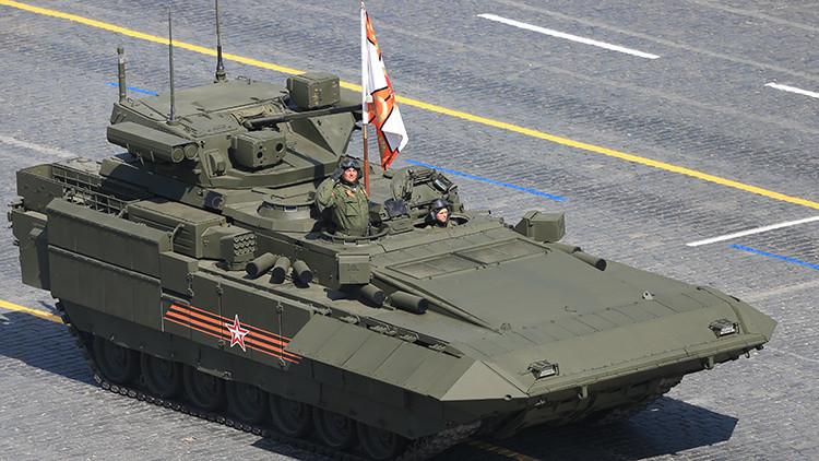 """Moscú: """"La India y China están interesados en comprar el moderno tanque ruso Armata"""""""
