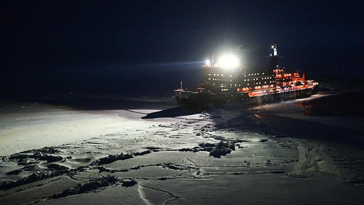 Tanques anfibios y láser corta-hielo: La Armada rusa asume la tecnología del futuro