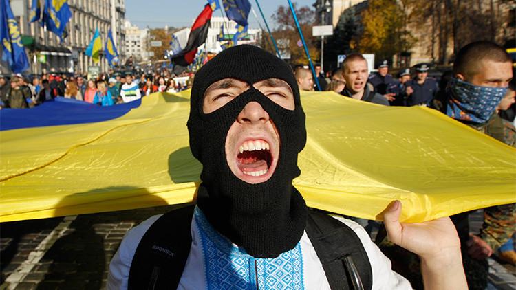 Los radicales ucranianos del Sector Derecho anuncian una movilización total