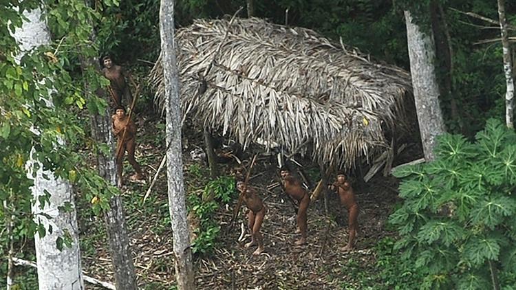 Salen de la selva amazónica las últimas tribus aisladas del mundo