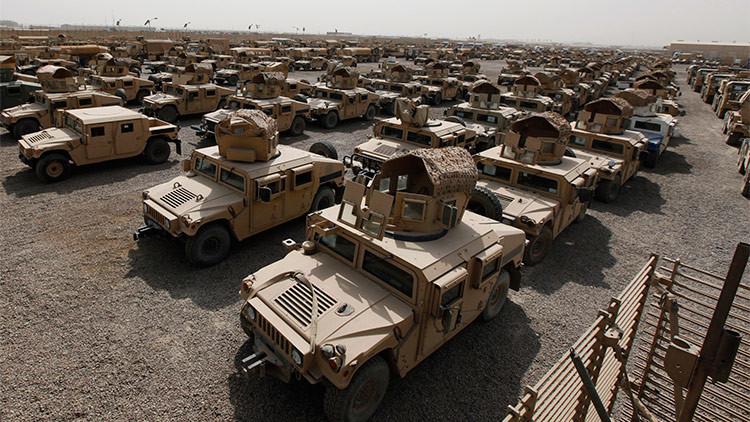 EE.UU. planea enviar a Irak más Humvees que el EI roba y usa como bombas rodantes