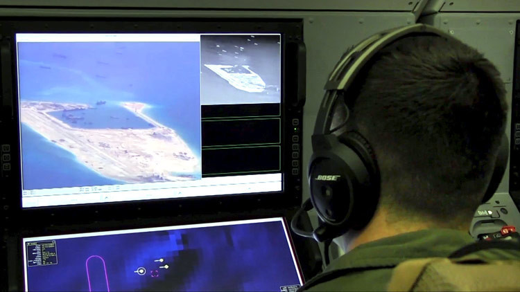 ¿Buques chinos de vigilancia cerca de Hawái?