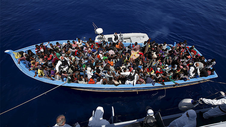 migrantes libia