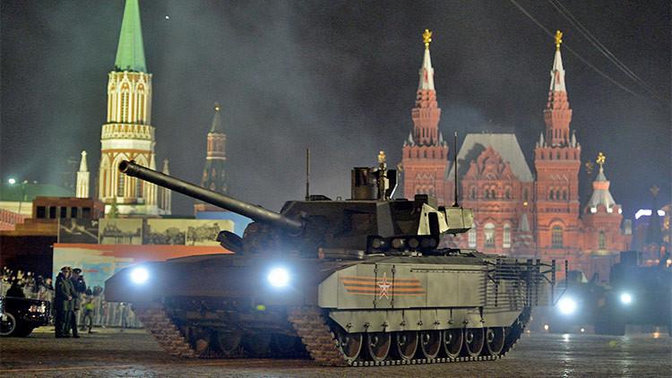 """""""El blindaje del Armata es inmune a todos los misiles antitanque actuales y futuros"""""""