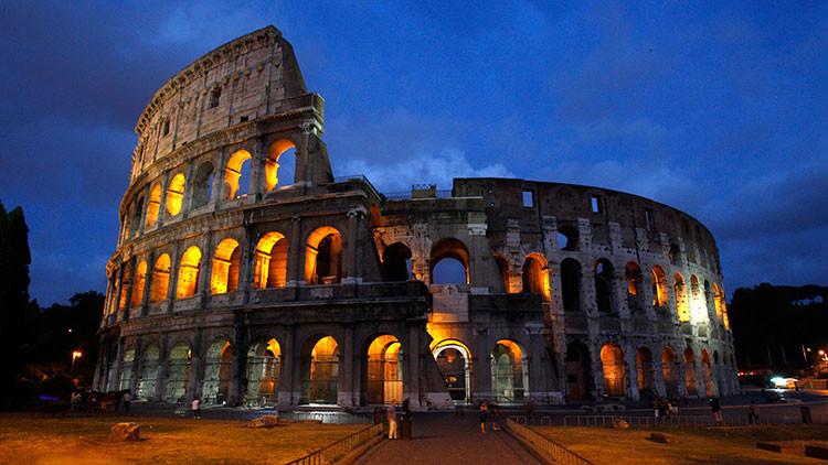 Recrean en el Coliseo romano una histórica máquina de la muerte
