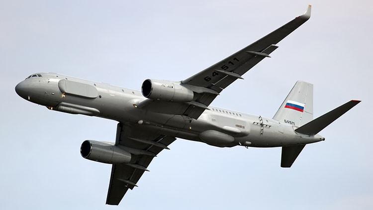 El avión de reconocimiento ruso Tu-214R será capaz de 'ver' objetos incluso bajo tierra