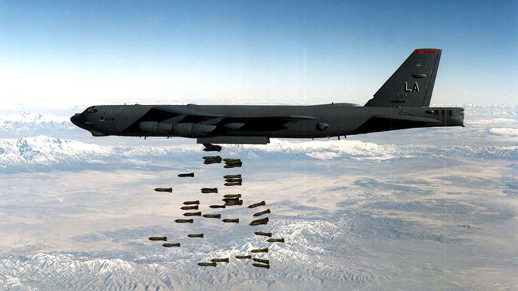 El Pentágono cambia municiones de racimo a las bombas de acero forjado