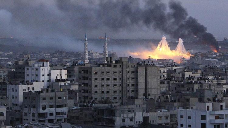 Informe: Israel construye y detona 'bombas sucias'