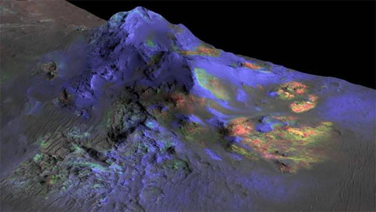Encuentran en Marte vidrio que puede aclarar el enigma de la vida en el planeta