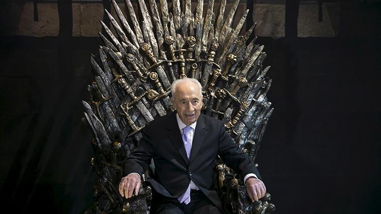"""Shimon Peres: """"La amenaza de boicot contra Israel equivale a una guerra"""""""
