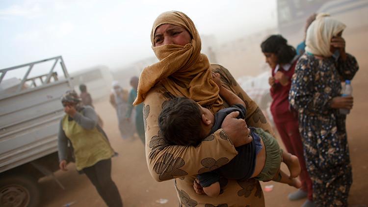 """Ultimátum de un miembro del EI a una viuda siria: """"O te casas conmigo o serás mi esclava"""""""