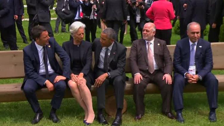Video: Cómo Obama ignoró al primer ministro de Irak durante la cumbre del G7