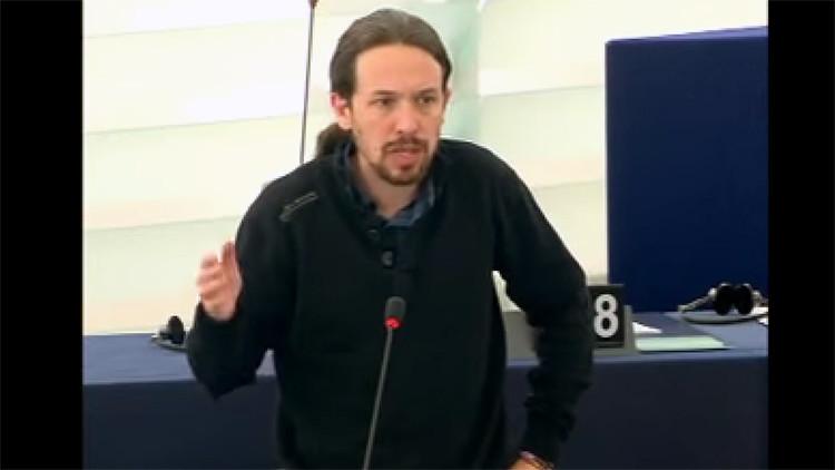 """Pablo Iglesias: """"En España los salarios de miseria tienen rostro de mujer"""" (VIDEO)"""