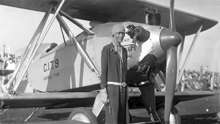 Hallan un video que inmortalizó a la aviadora Amelia Earhart antes de desaparecer en el Pacífico