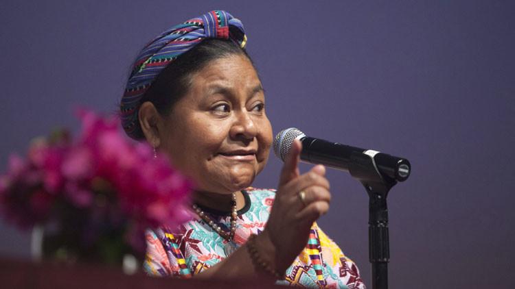 Rigoberta Menchú: Renuncia del presidente de Guatemala por corrupción es inevitable
