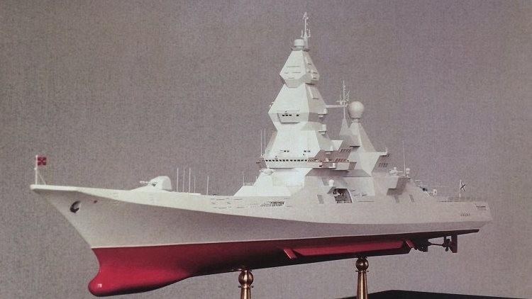 Diseñan en Rusia un destructor atómico que porta más misiles que una flotilla