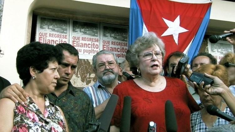 Fidel Castro se reúne con la reverenda de EE.UU. Joan Brown Campbell