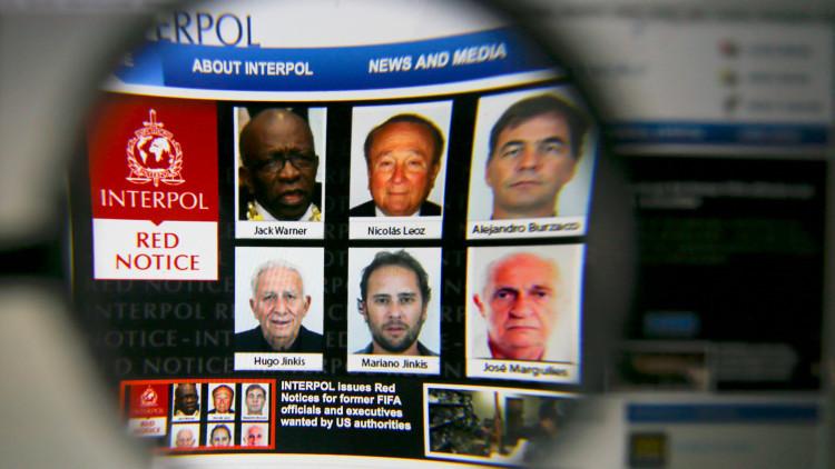 Interpol suspende su contrato de 20 millones de euros con la FIFA